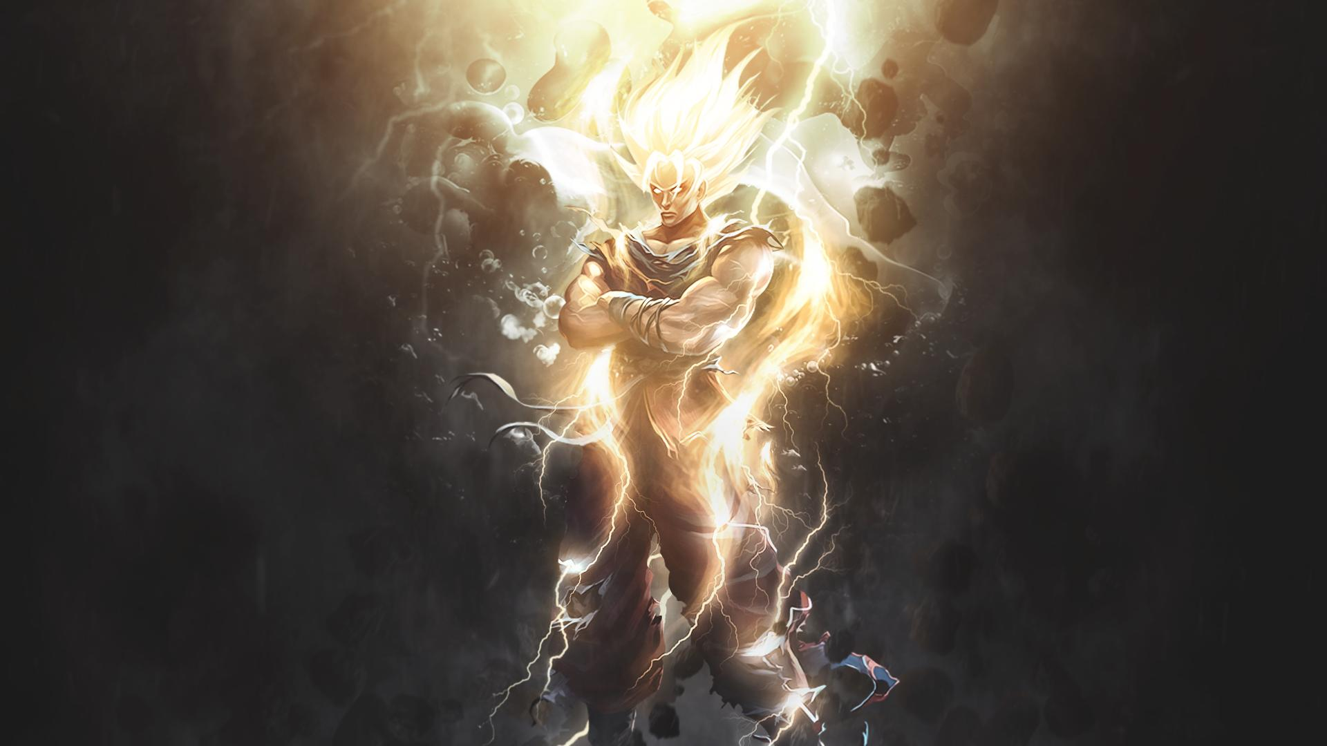 Goku Hd Wallpaper Background Image 1920x1080 Id