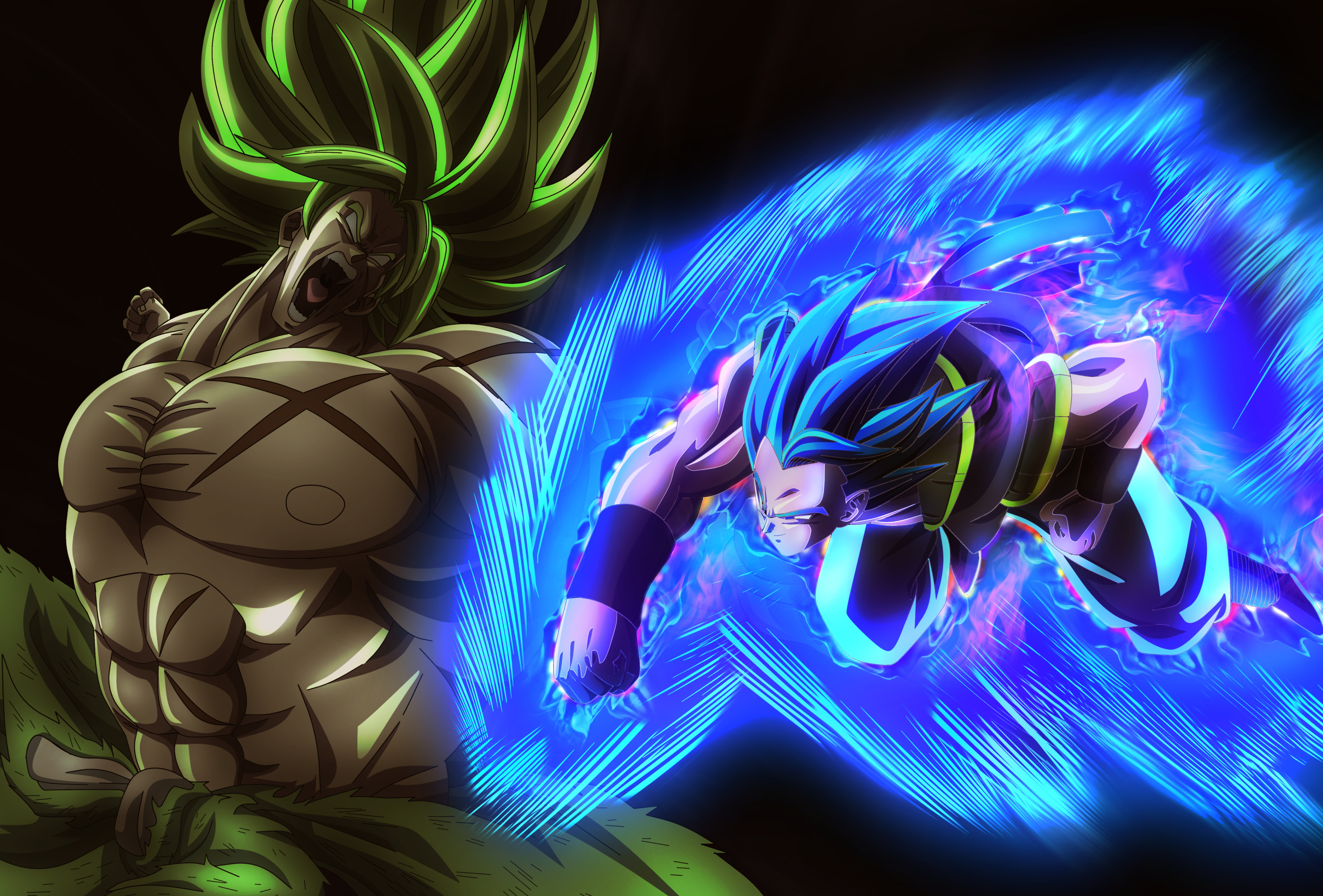 Gogeta Vs Broly 4k Ultra Hd Wallpaper Background Image 4219x2859 Id 1004710 Wallpaper Abyss