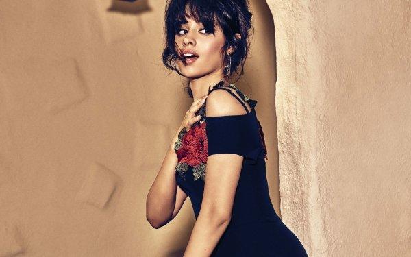 Music Camila Cabello Singers United States Singer Latina Brunette Brown Eyes HD Wallpaper | Background Image
