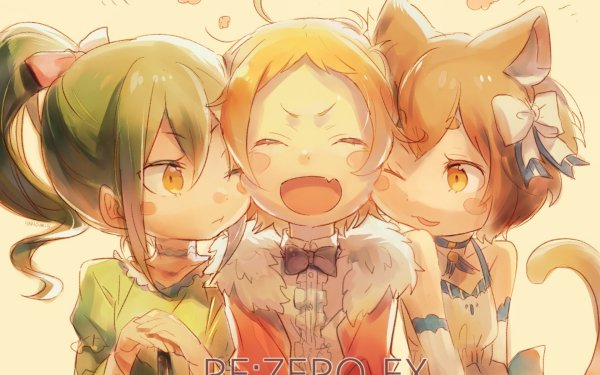 Anime Re:ZERO -Starting Life in Another World- Crusch Karsten Felix Argyle Fourier Lugnica HD Wallpaper | Background Image
