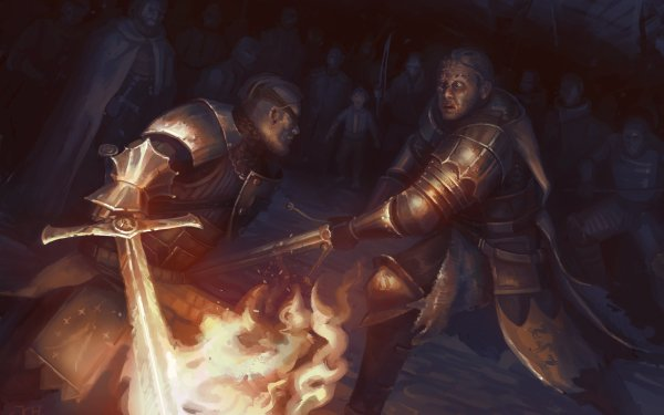 Fantasy A Song Of Ice And Fire Sandor Clegane Beric Dondarrion Arya Stark HD Wallpaper   Background Image