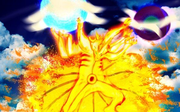 Anime Naruto Naruto Uzumaki Kurama HD Wallpaper   Background Image