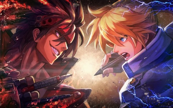 Video Game Guilty Gear Xrd -Revelator- Guilty Gear Xrd Sol Badguy Ky Kiske HD Wallpaper | Background Image