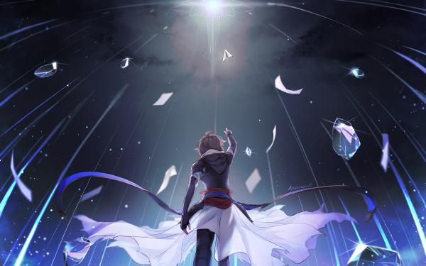 Anime Granblue Fantasy Sandalphon HD Wallpaper   Background Image