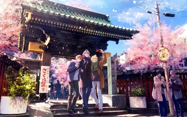 Anime Hypnosis Mic Hifumi Izanami Jakurai Jinguji Doppo Kannonzaka HD Wallpaper   Background Image
