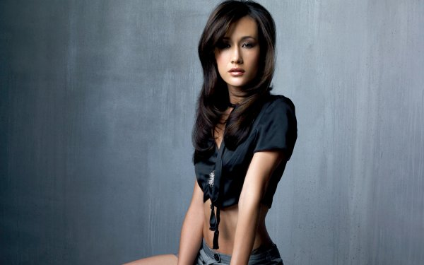 Celebrity Maggie Q Actresses United States Actress Brunette Shorts HD Wallpaper | Background Image
