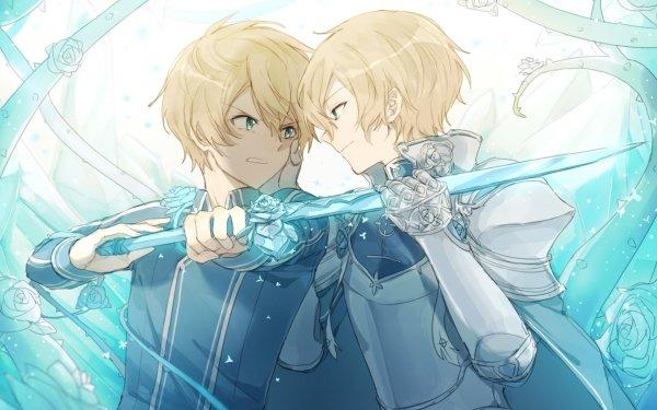 Anime Sword Art Online: Alicization Sword Art Online Eugeo Blue Rose Sword Blonde HD Wallpaper | Background Image