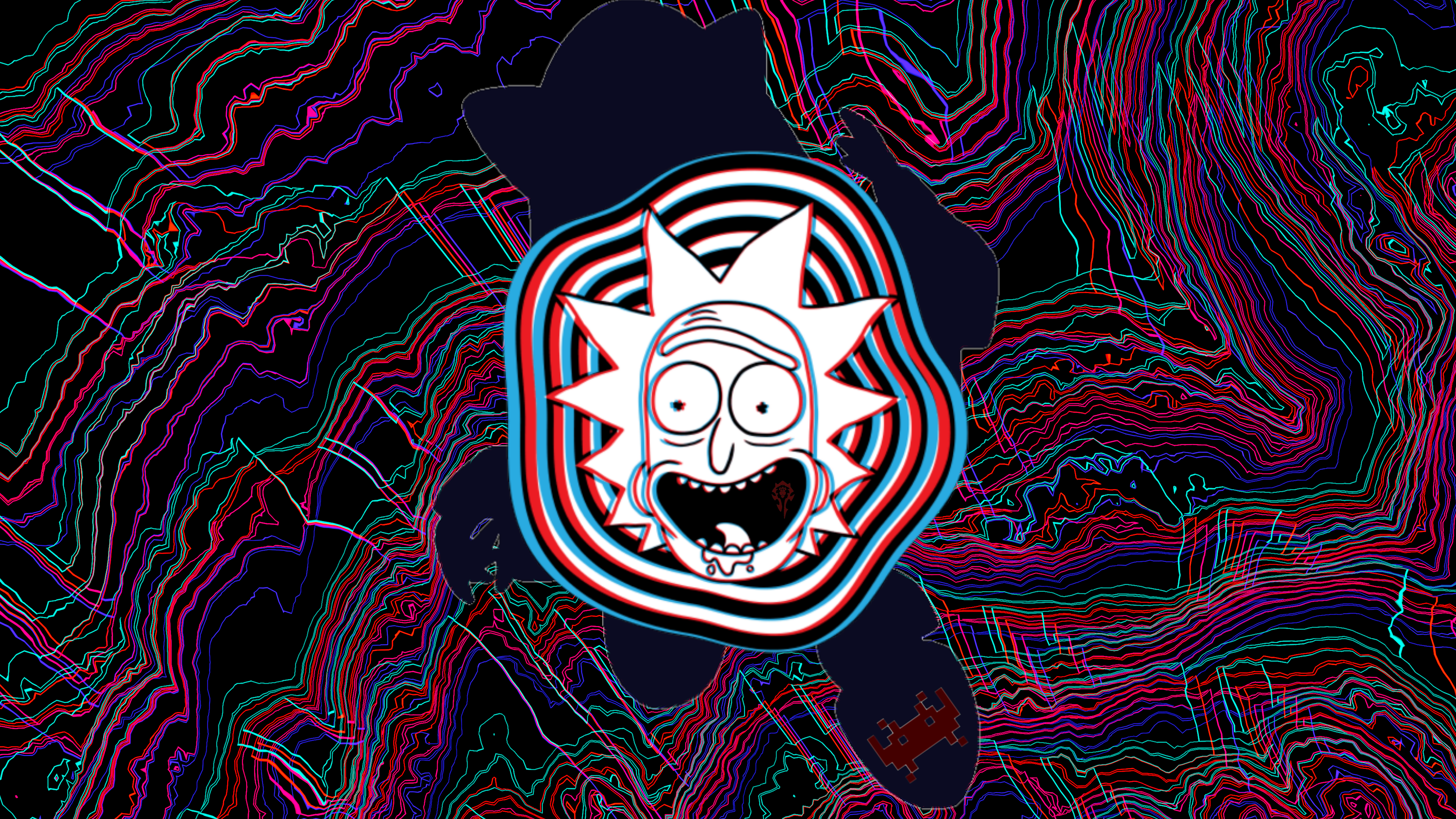 Glitch 4k Ultra Hd Wallpaper Background Image 3840x2160 Id 1010763 Wallpaper Abyss