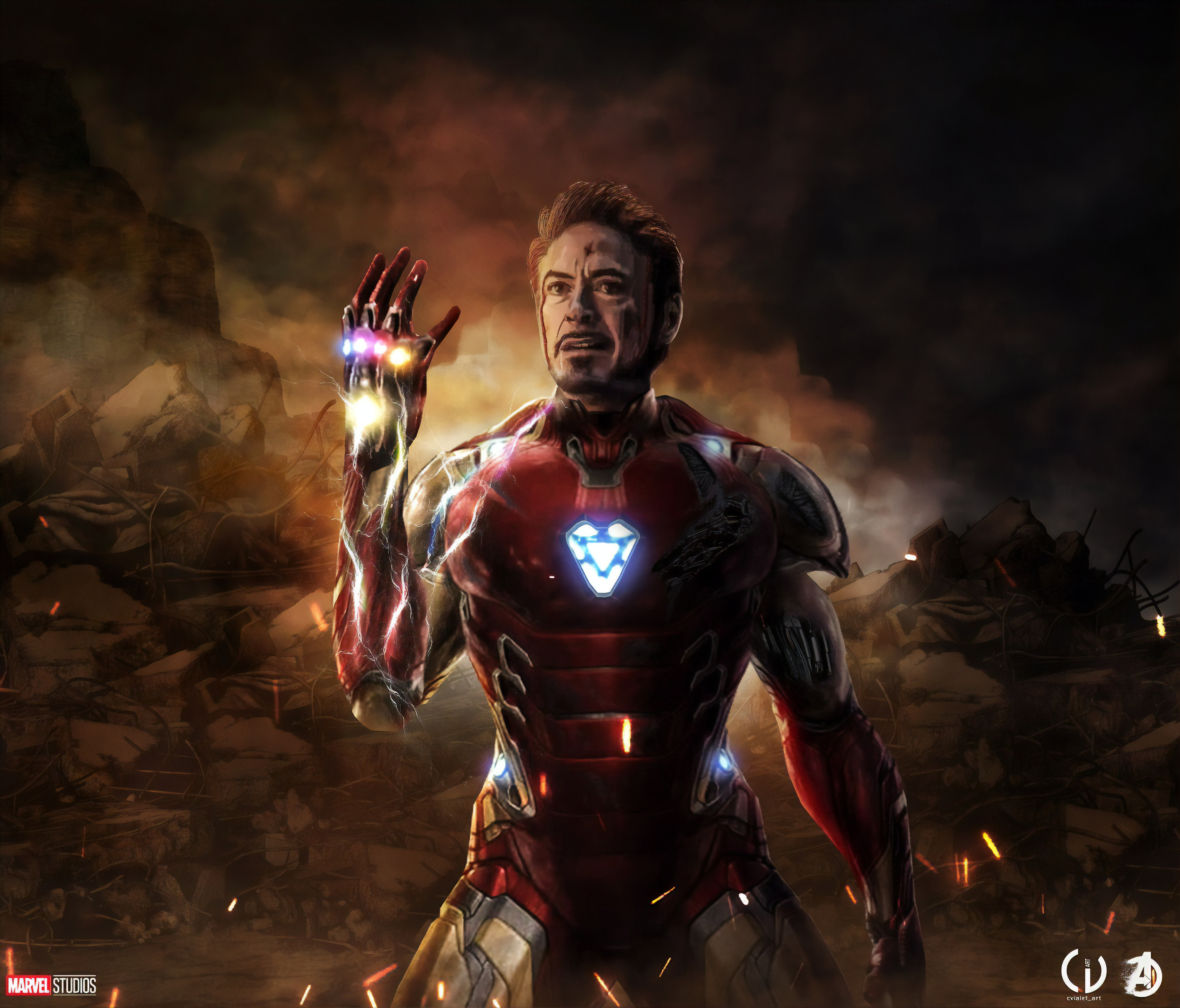 I Am Iron Man 5k Retina Ultra Hd Wallpaper Hintergrund