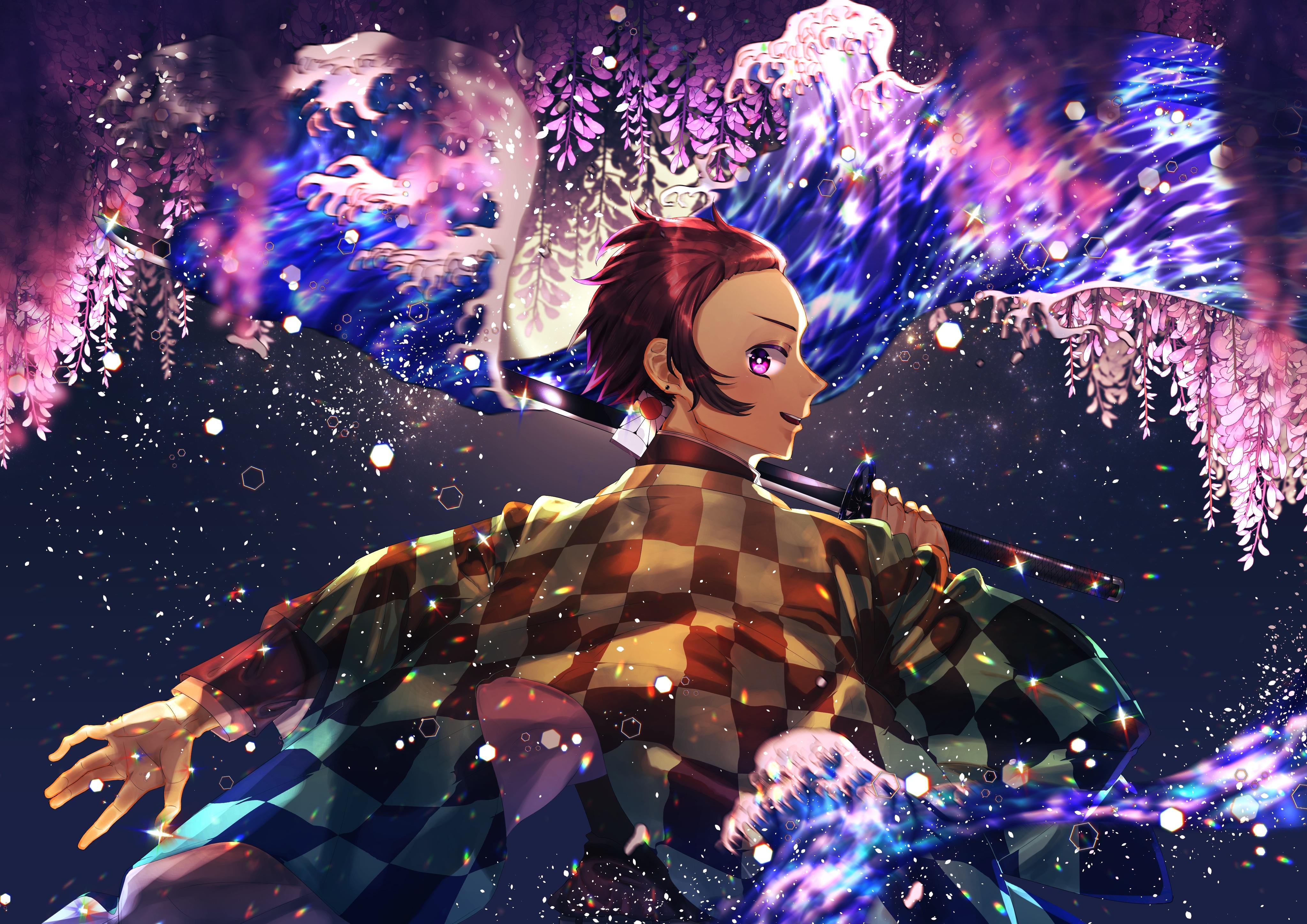 Demon Slayer Kimetsu No Yaiba 4k Ultra Hd Wallpaper Background
