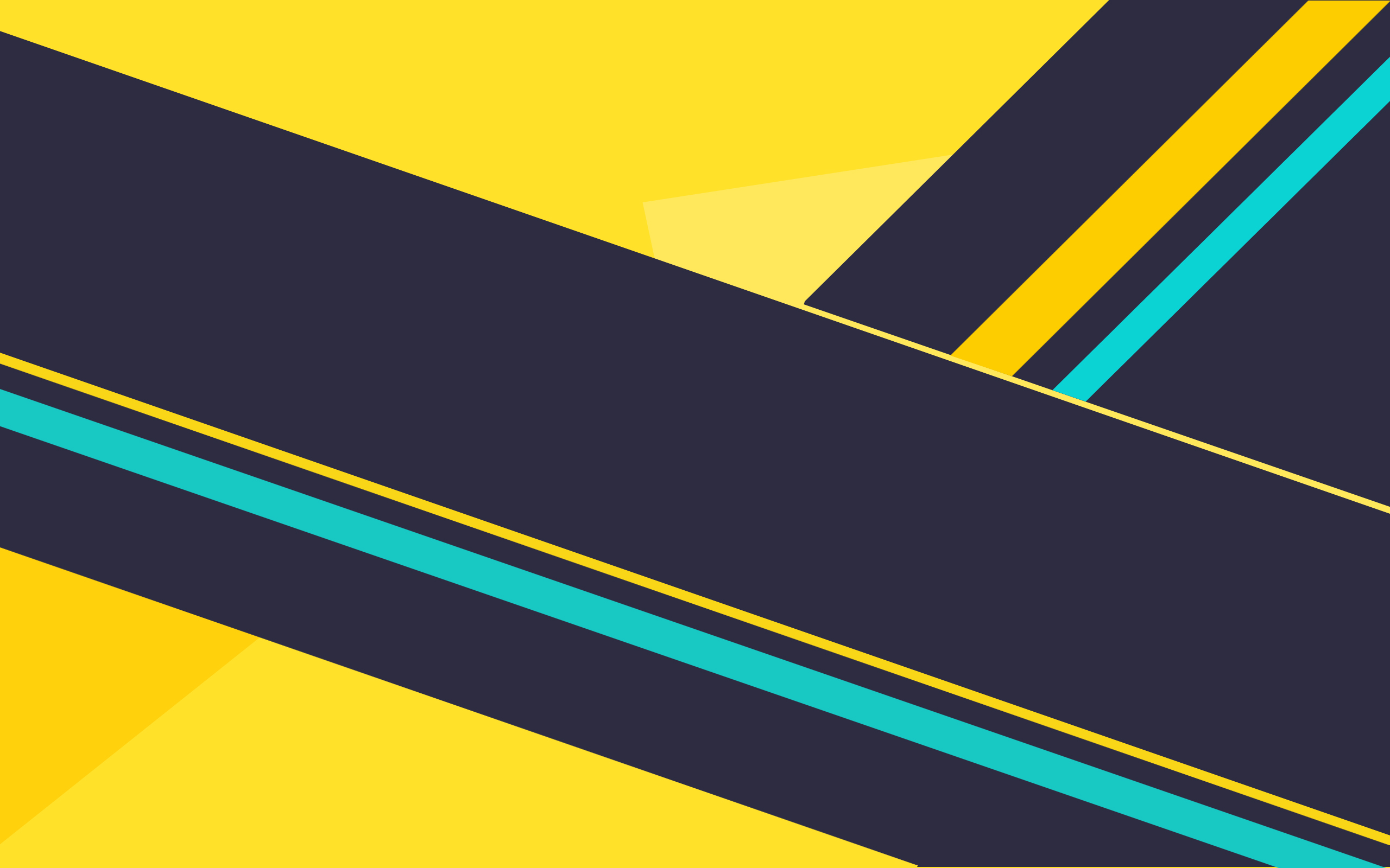 Yellow Grey Cyan Abstract Background Hd Wallpaper