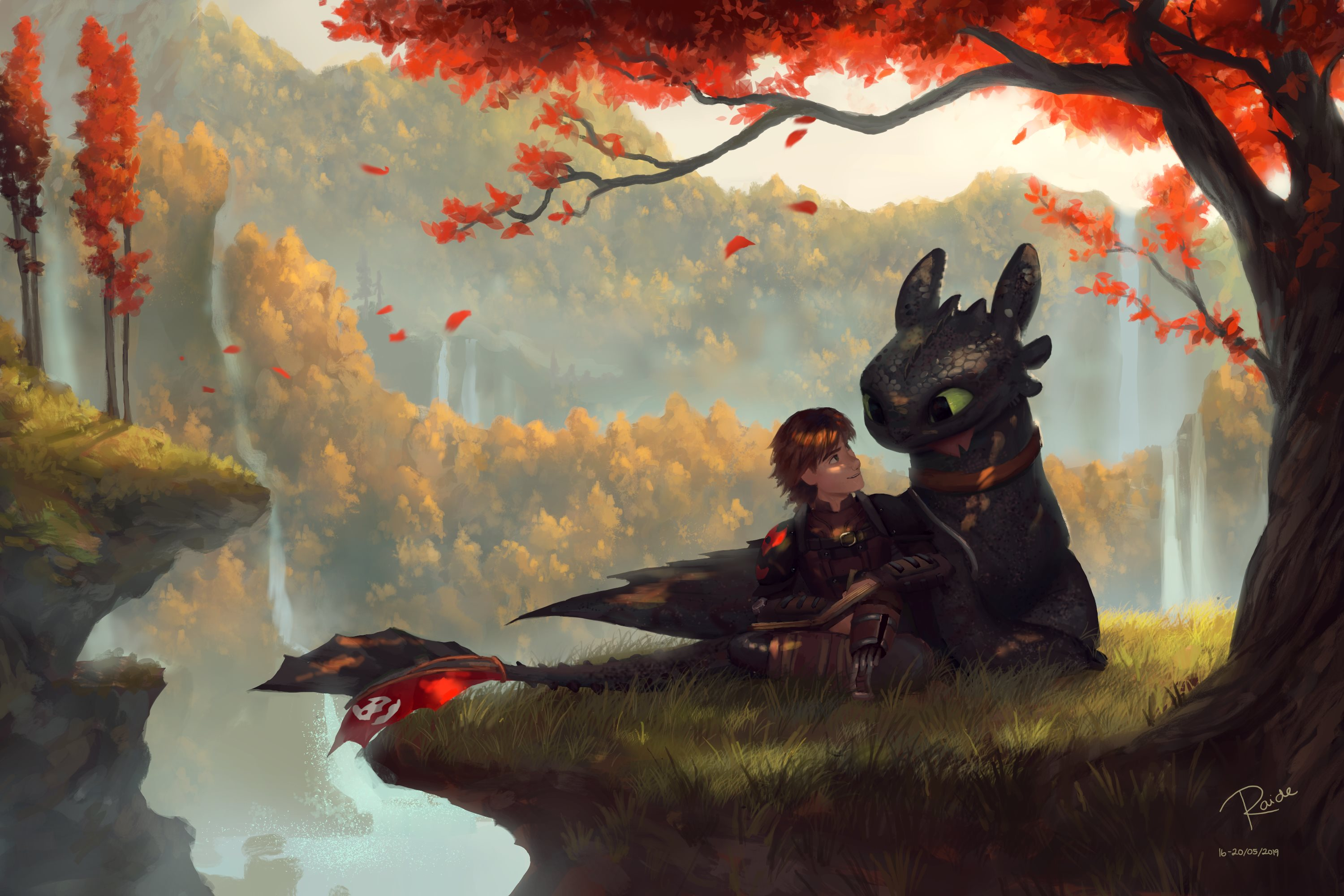 How To Train Your Dragon Hd Wallpaper Background Image