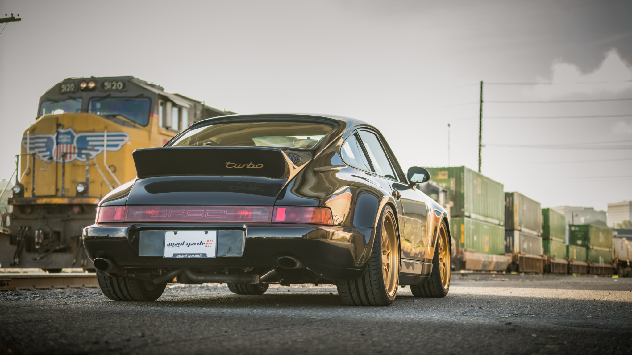 1991 Porsche 964 Turbo Hd Wallpaper Background Image 2048x1152 Id 1018386 Wallpaper Abyss
