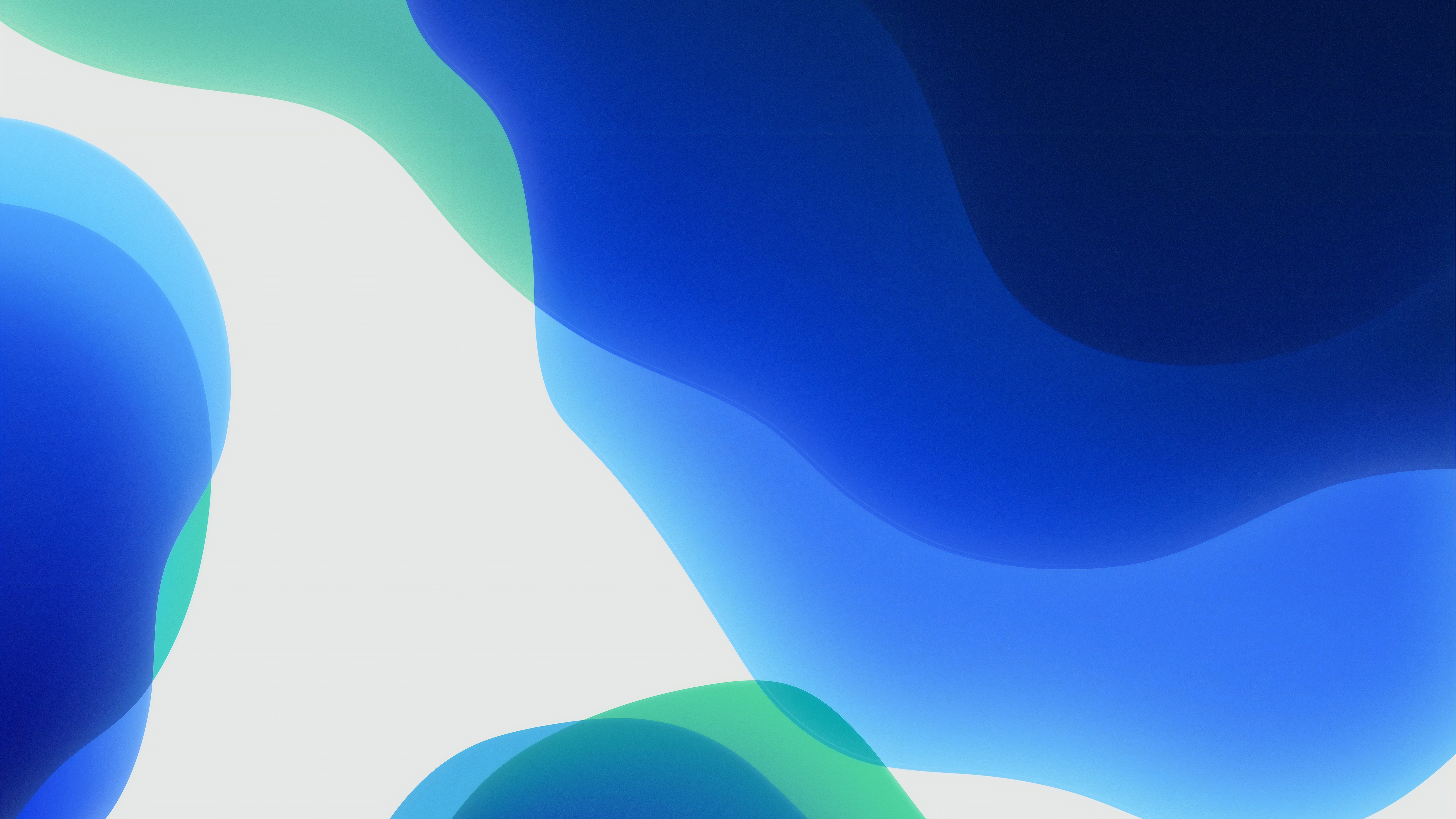 Ios 13 Wallpaper Blue Light 5k Retina Ultra Hd обои