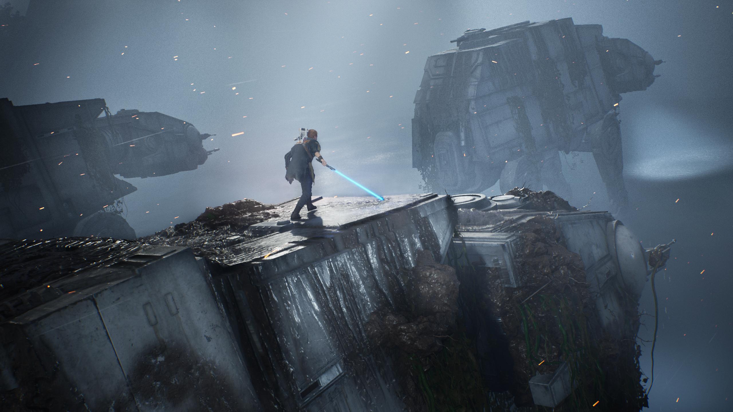 Star Wars Jedi Fallen Order Hd Wallpaper Background Image 2560x1440 Id 1020916 Wallpaper Abyss
