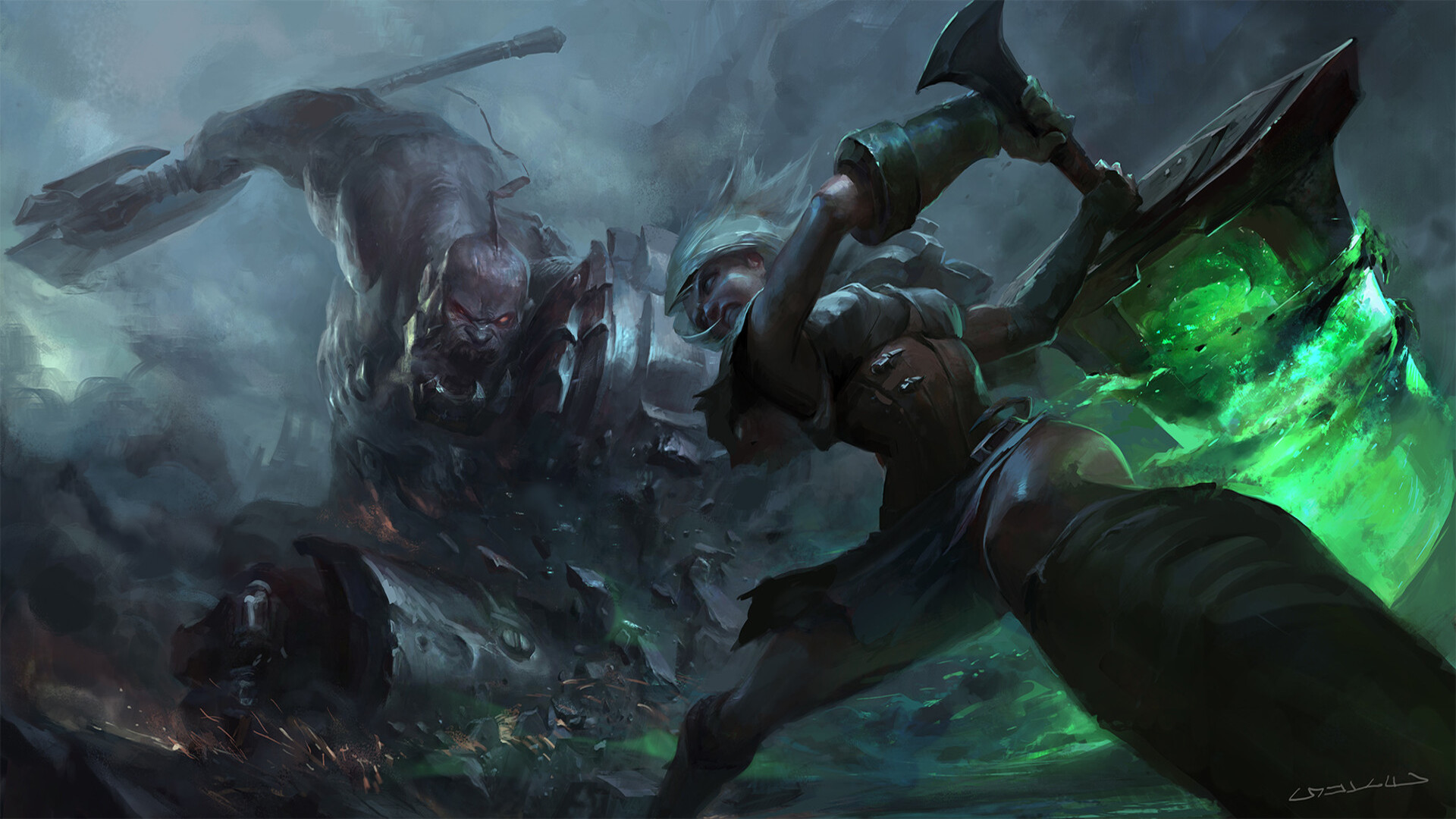 League Of Legends Hd Wallpaper Background Image