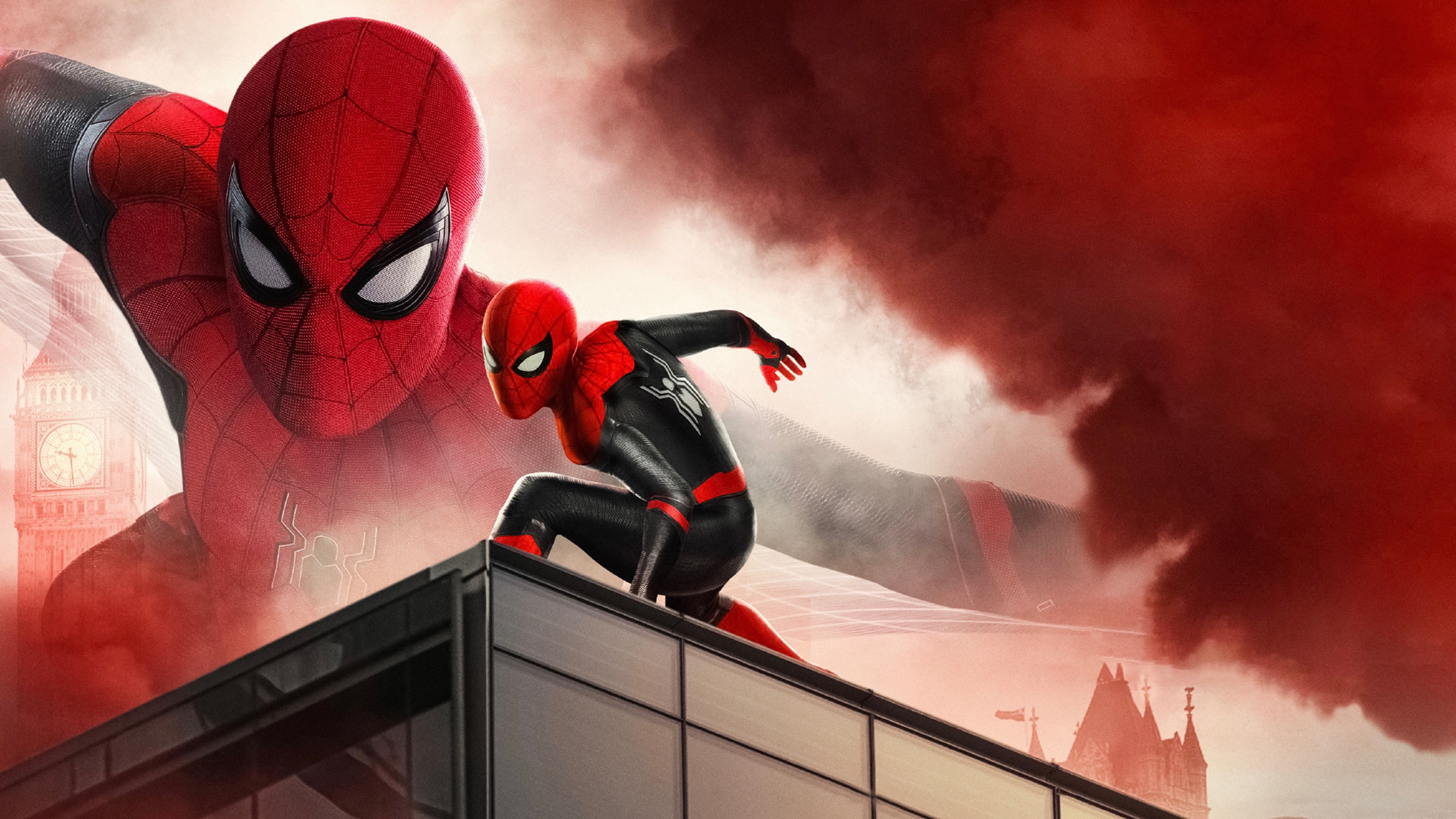 Spider Man Far From Home 4k Ultra Hd Wallpaper