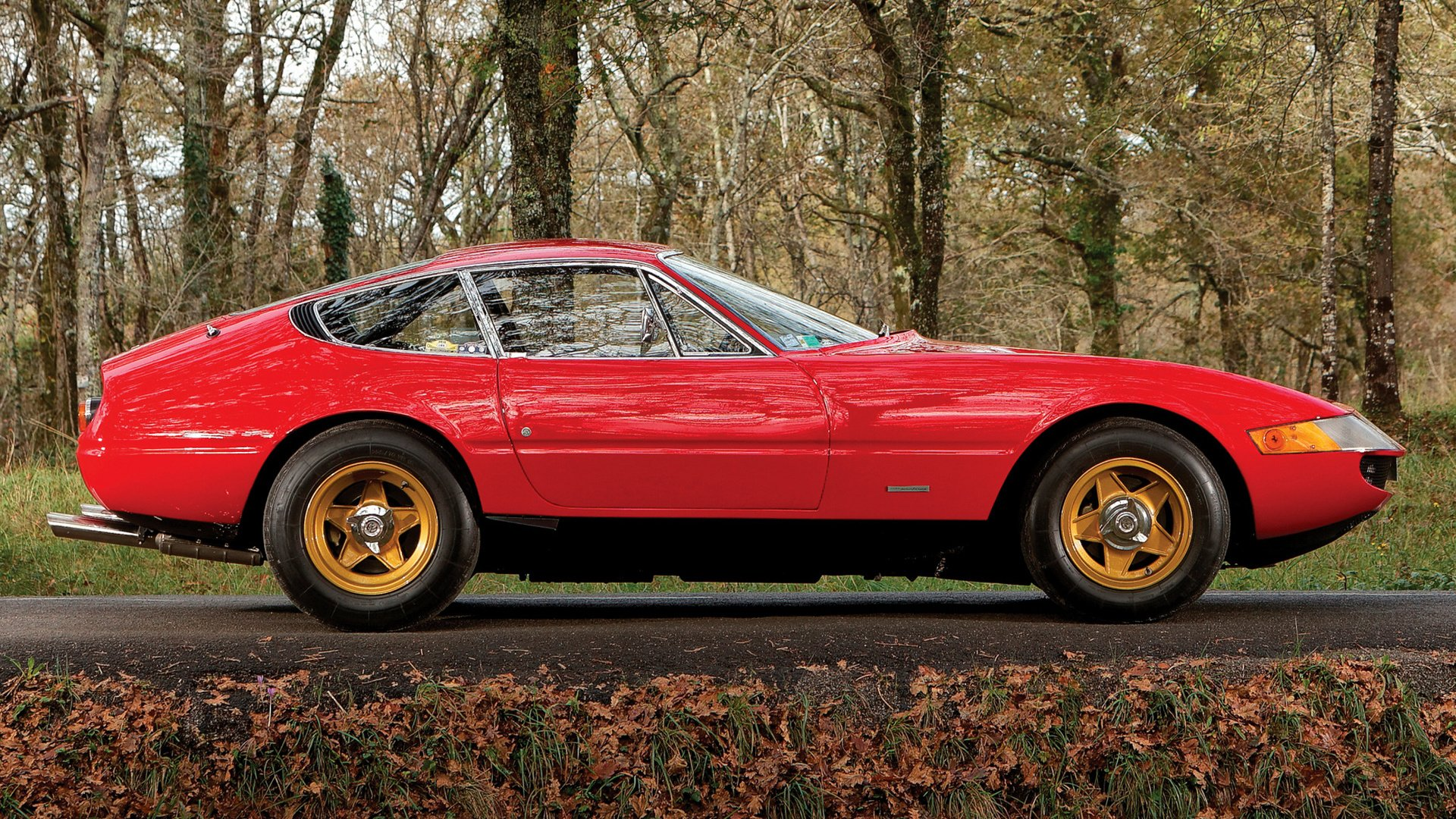1969 Ferrari 365 Gtb  4 Daytona Hd Wallpaper