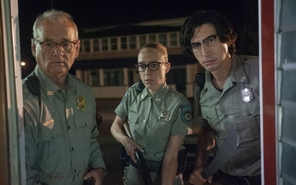 Movie The Dead Don't Die Bill Murray Chloë Sevigny Adam Driver HD Wallpaper | Background Image