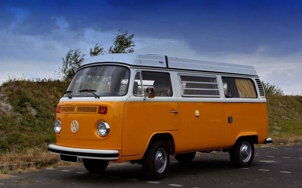 Vehicles Volkswagen Van HD Wallpaper | Background Image