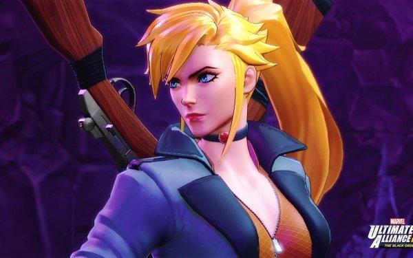 Video Game Marvel Ultimate Alliance 3: The Black Order Elsa Bloodstone HD Wallpaper   Background Image