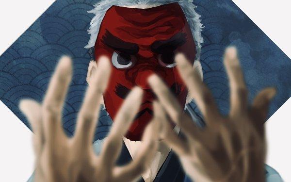 Anime Demon Slayer: Kimetsu no Yaiba Sakonji Urokodaki Fondo de pantalla HD | Fondo de Escritorio