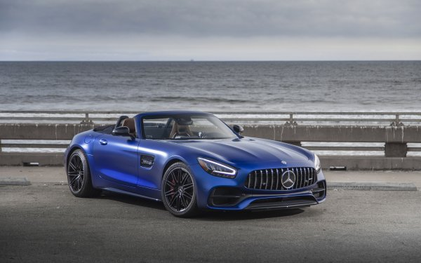 Vehicles Mercedes-Benz AMG GT Mercedes-Benz Car Mercedes-Benz AMG Blue Car Sport Car HD Wallpaper | Background Image