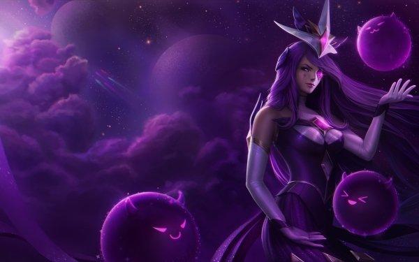 Video Game League Of Legends Syndra Star Guardians Fan Art HD Wallpaper | Background Image