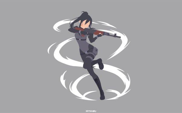 Anime Sword Art Online Alternative: Gun Gale Online Sword Art Online Pitohui HD Wallpaper   Background Image