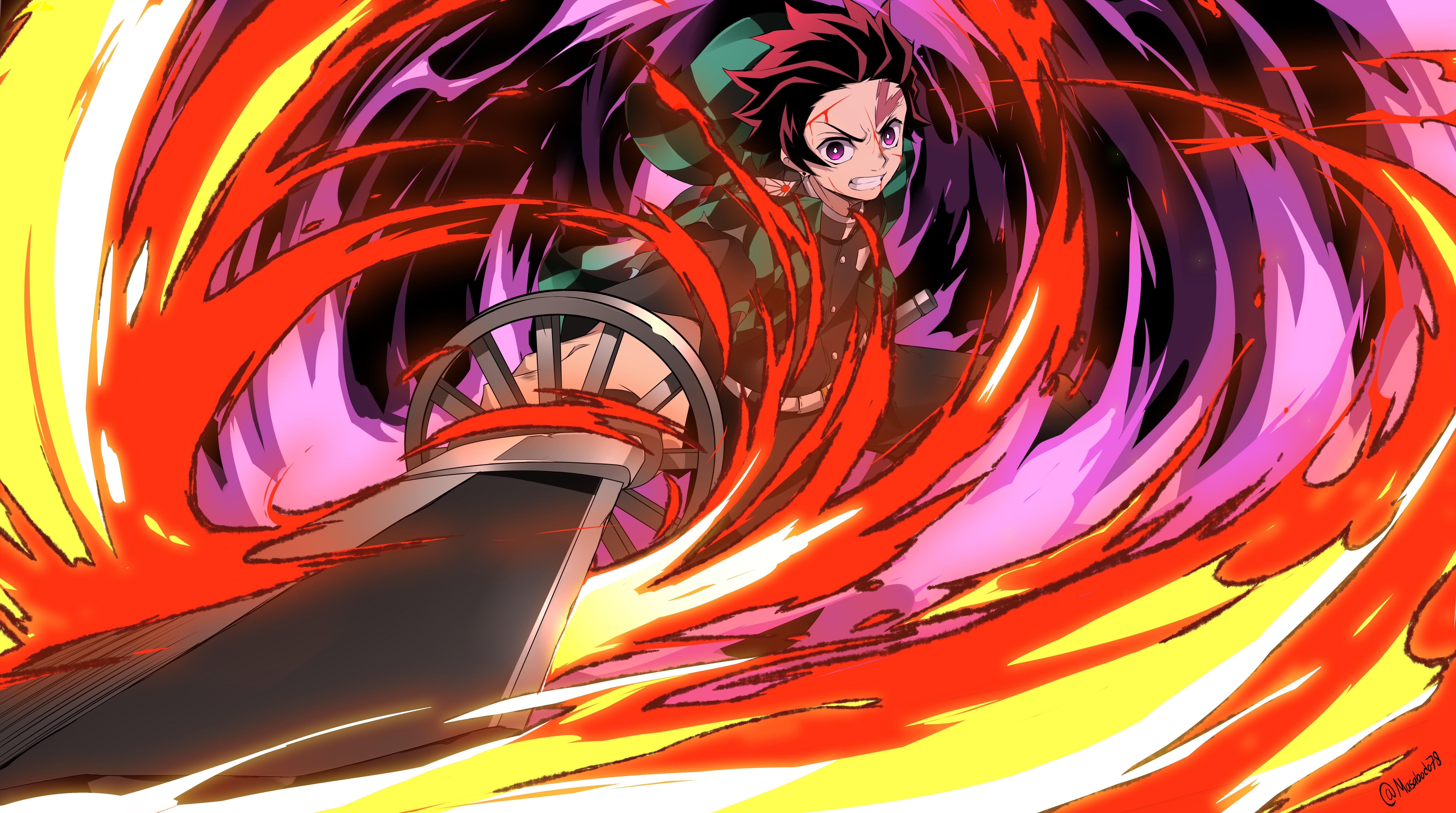 Demon Slayer: Kimetsu no Yaiba 5k Retina Ultra HD Wallpaper | Background Image | 7017x3918 | ID ...