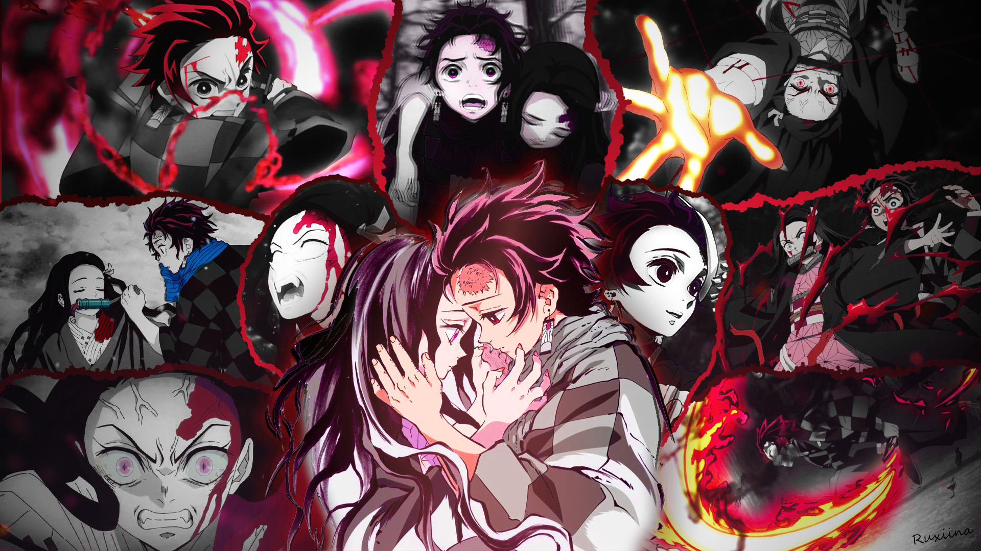 Demon Slayer Kimetsu No Yaiba Hd Wallpaper Background Image