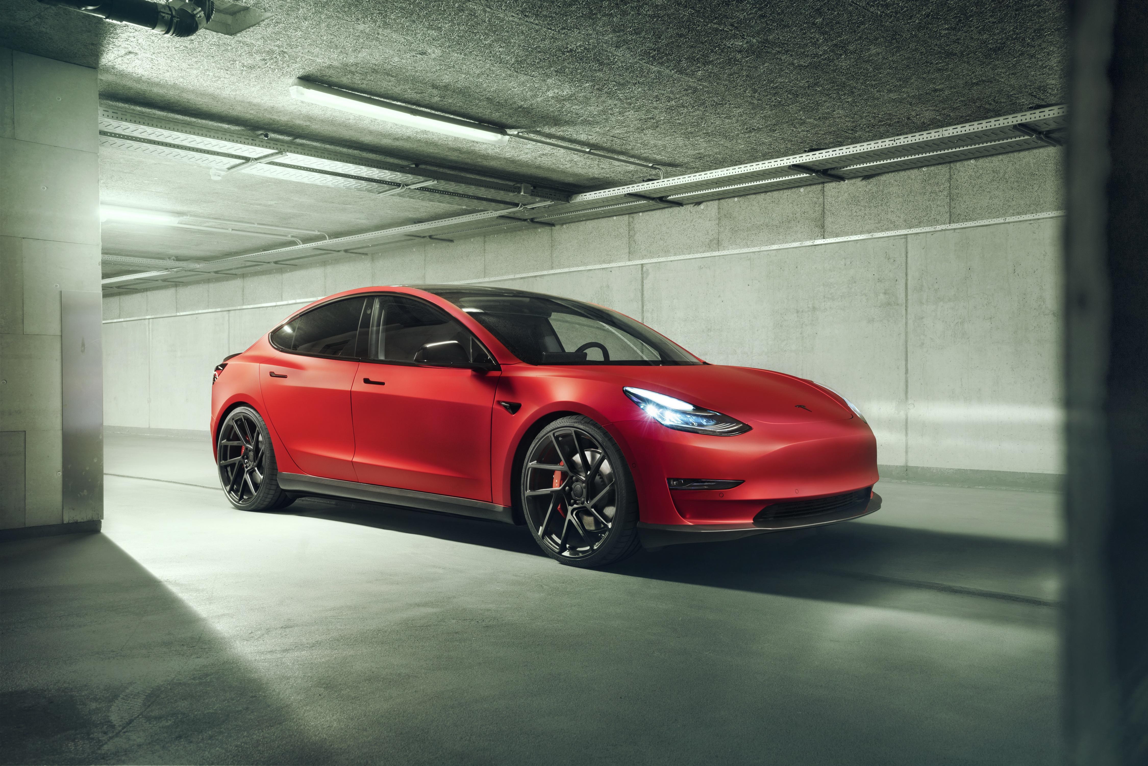 Tesla Model 3 4k Ultra Fondo De Pantalla Hd Fondo De