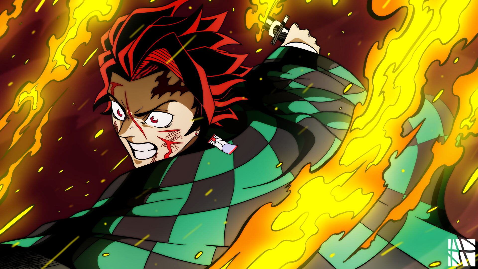 Demon Slayer: Kimetsu no Yaiba HD Wallpaper   Background ...
