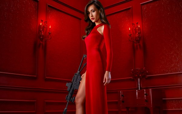 TV Show Nikita Maggie Q HD Wallpaper | Background Image