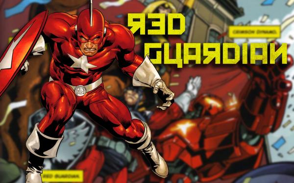 Comics Marvel Comics Red Guardian HD Wallpaper | Background Image