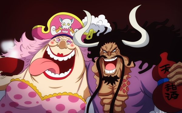 Anime One Piece Charlotte Linlin Kaido HD Wallpaper | Background Image