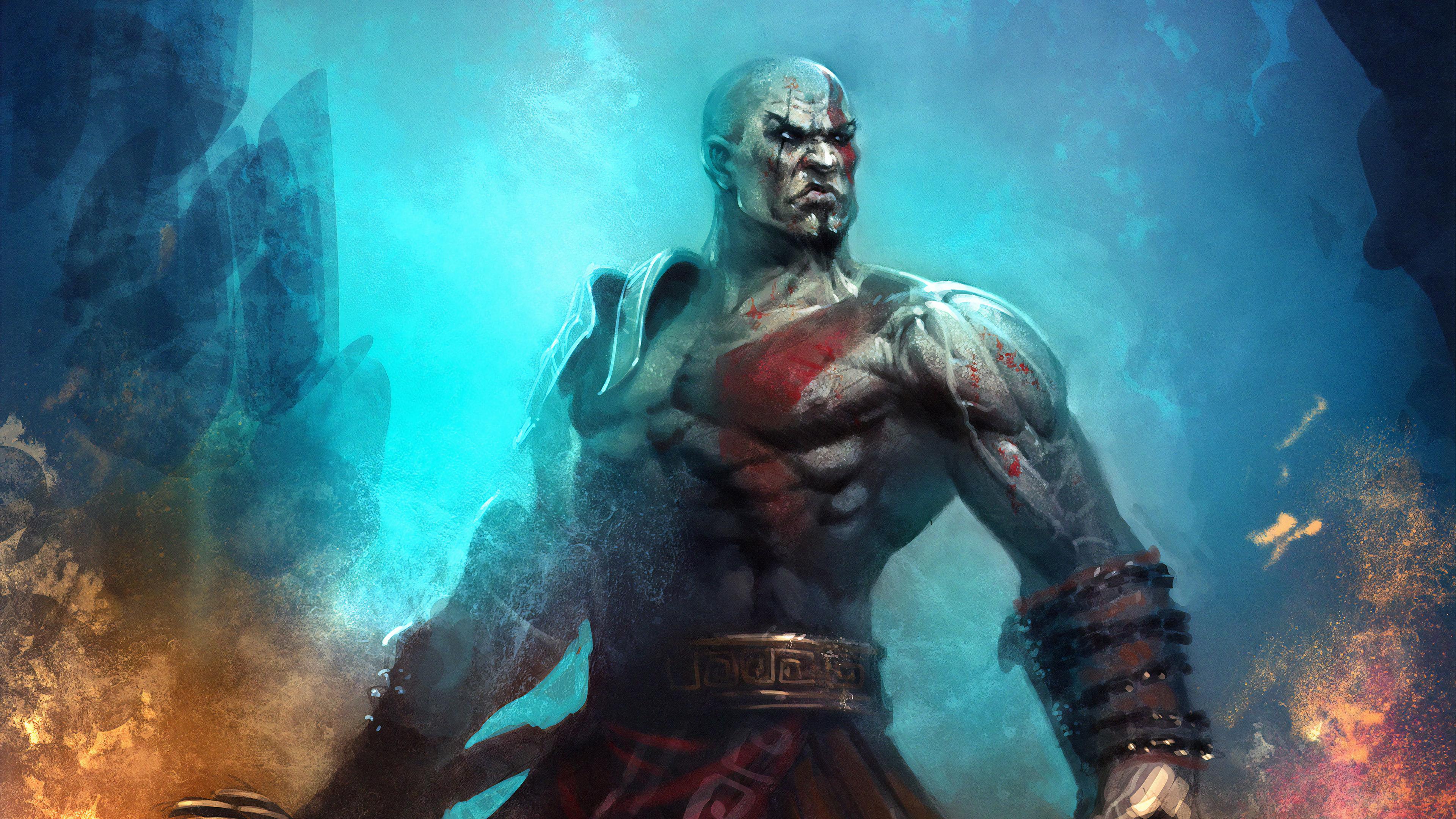 God Of War 4k Ultra Hd Wallpaper Background Image