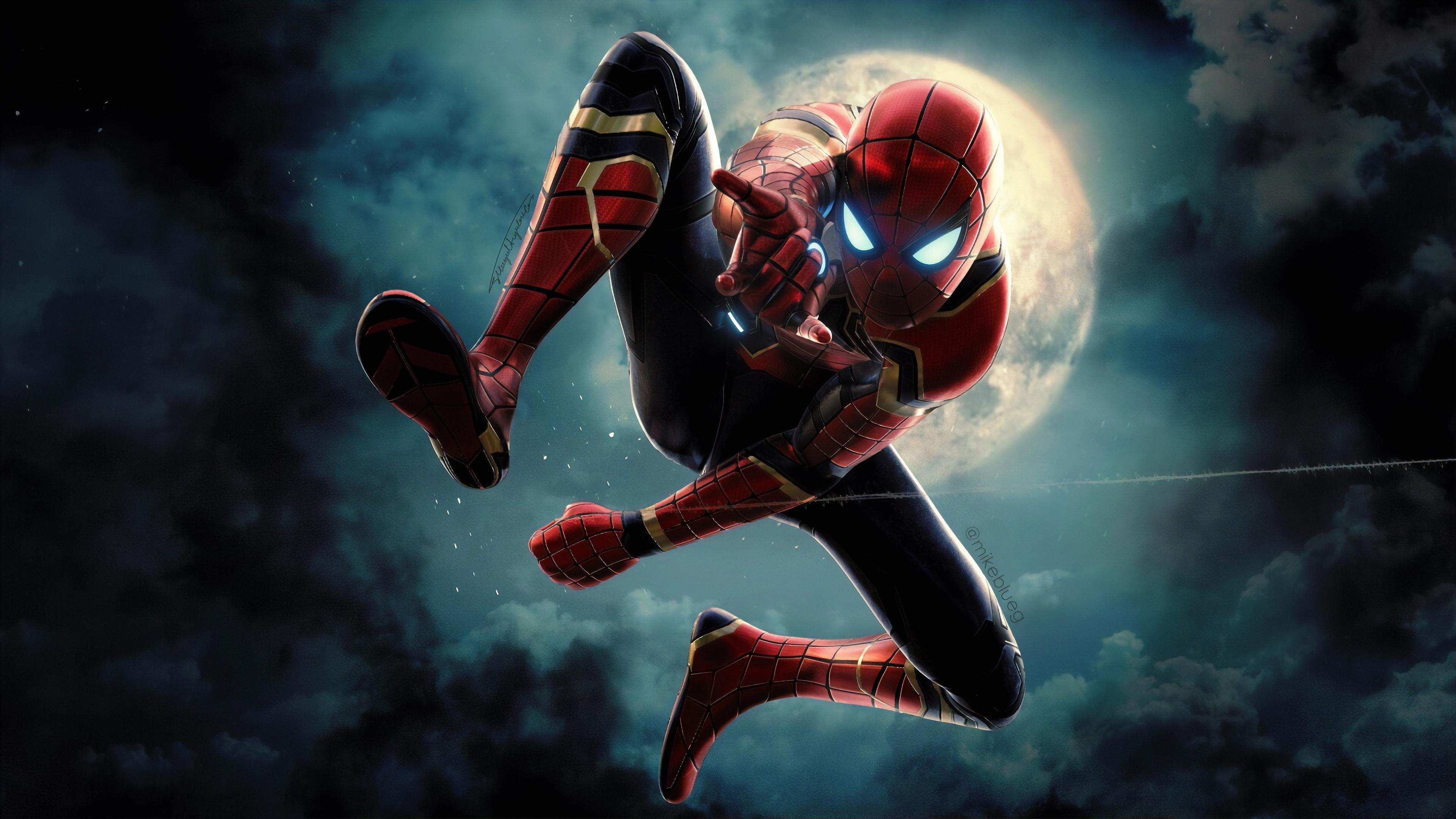 Spider-Man 4k Ultra HD Wallpaper | Background Image ...