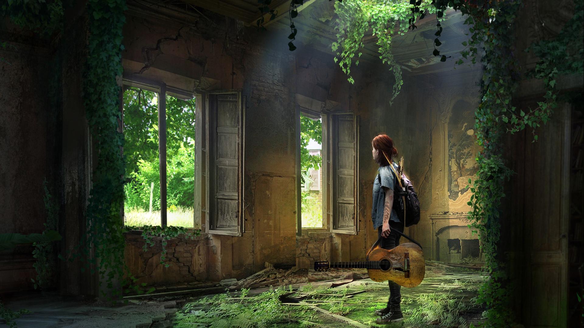 The Last of Us Part II (Ellie Fan Art) HD Wallpaper ...