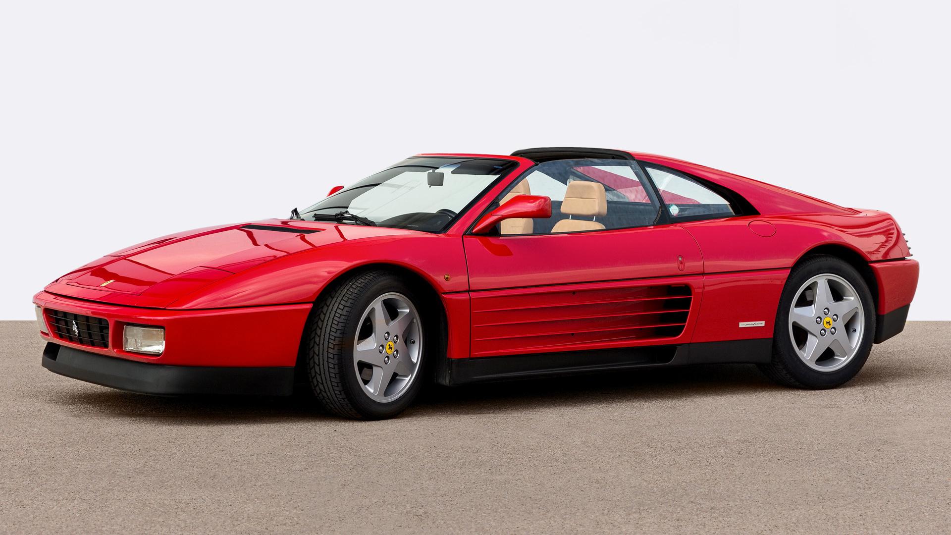 1989 Ferrari 348 Ts Fondo De Pantalla Hd Fondo De