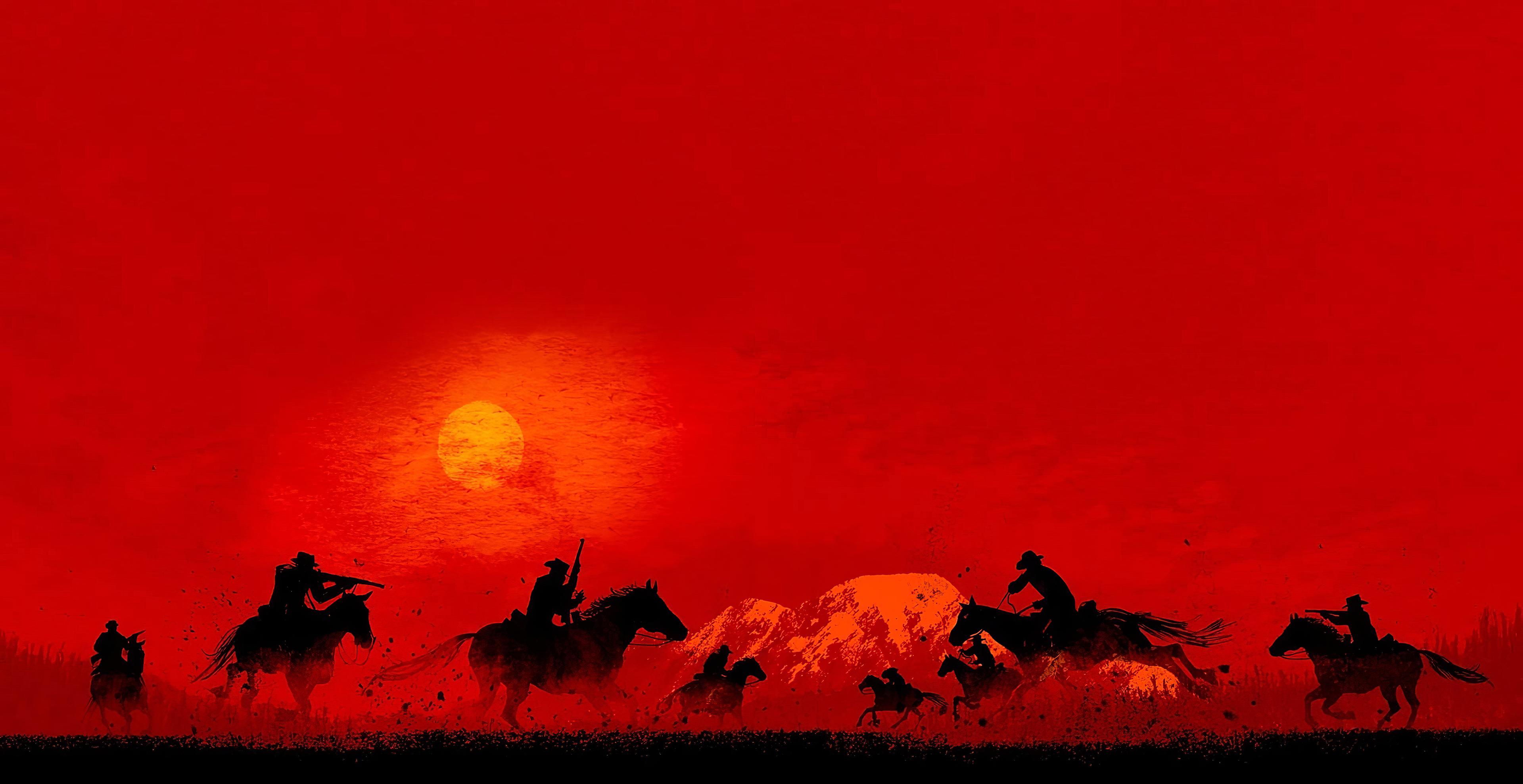 Red Dead Redemption 2 Fondo De Pantalla Hd Fondo De