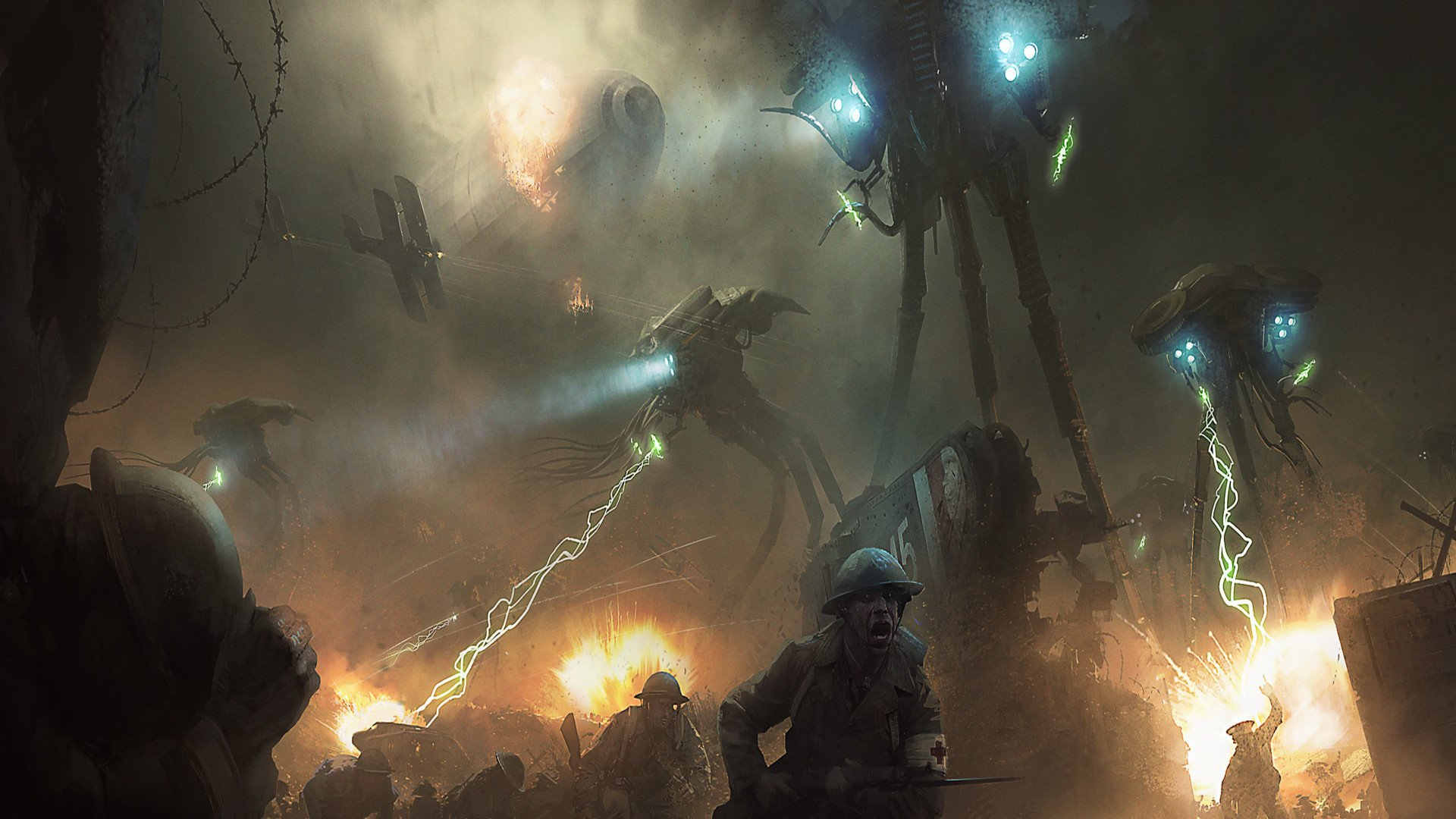 War Of The Worlds Hd Wallpaper Background Image 1920x1080 Id