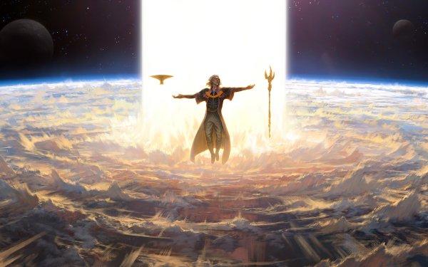 Game Magic: The Gathering Sorcerer HD Wallpaper | Background Image