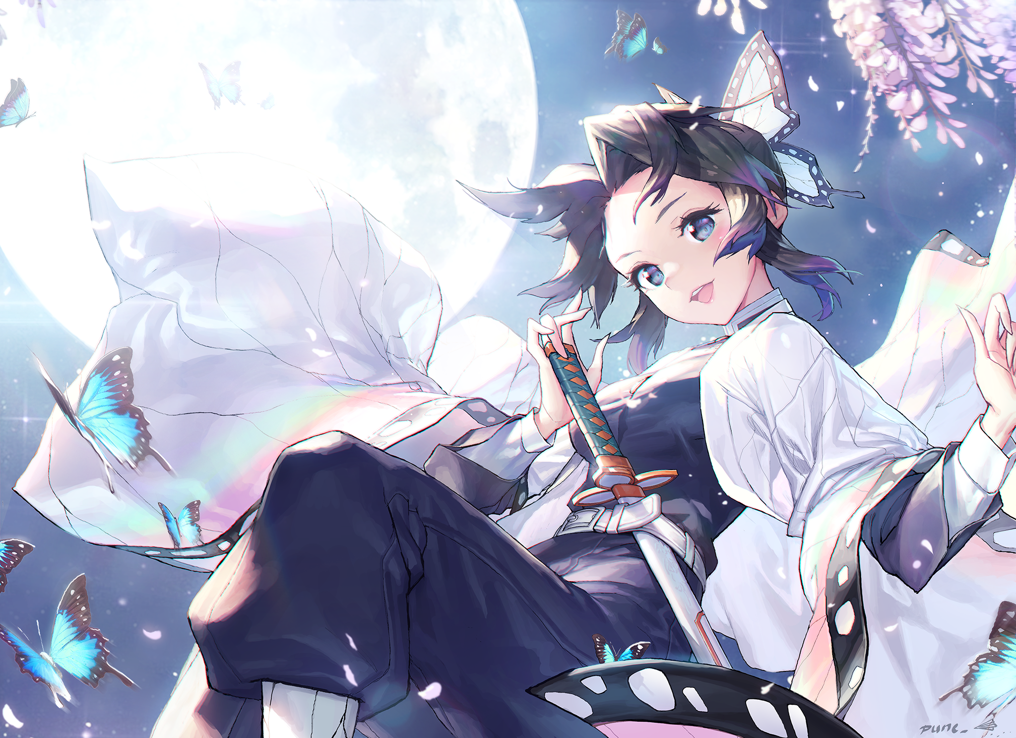 Demon Slayer: Kimetsu no Yaiba HD Wallpaper   Background Image   2048x1487   ID:1058035 ...