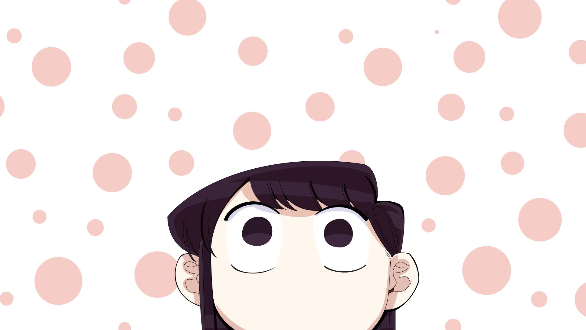 Komi Cant Communicate Hd Wallpaper Hintergrund