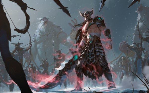 Video Game Legends of Runeterra Tryndamere HD Wallpaper | Background Image