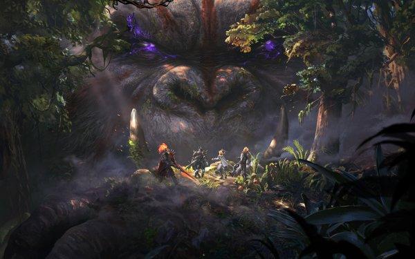 Fantasy Creature Ape HD Wallpaper | Background Image
