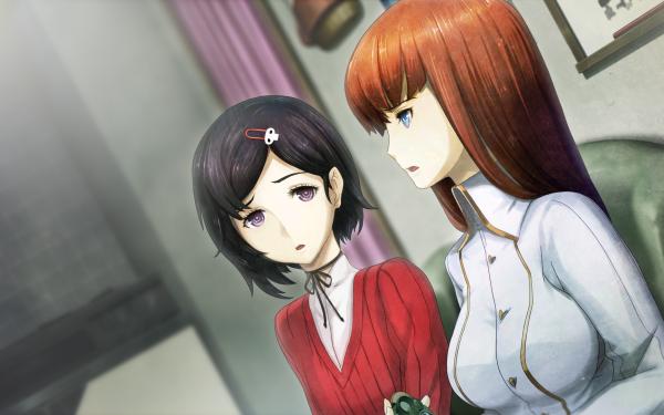 Anime Steins;Gate 0 Kurisu Makise Kagari Shiina HD Wallpaper | Background Image