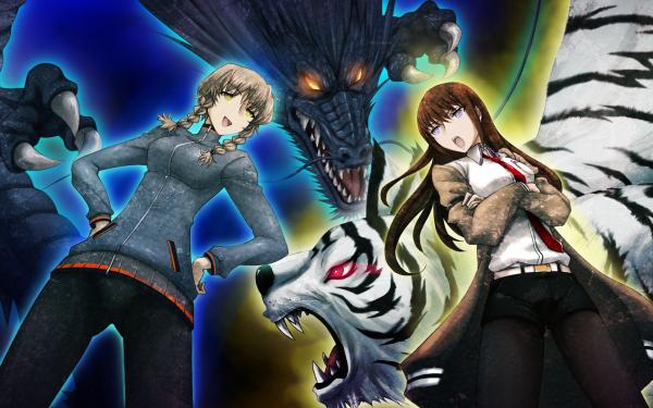 Anime Steins;Gate Kurisu Makise Suzuha Amane HD Wallpaper | Background Image