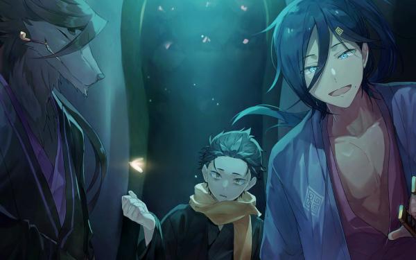 Anime Re:ZERO -Starting Life in Another World- Cecilus Segmunt Subaru Natsuki Halibel HD Wallpaper   Background Image